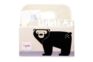 3 Sprouts Baby Diaper Organizer Caddy