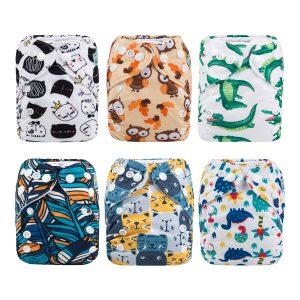 ALVA Baby Pocket Newborn Cloth Diapers