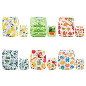 ALVABABY Pocket Cloth Diapers