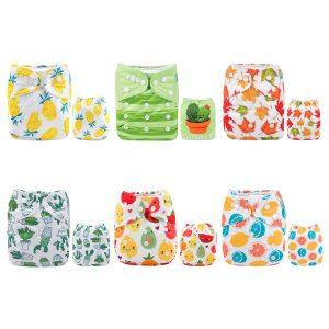 ALVABABY Pocket Cloth Diapers