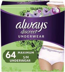 Always Discreet Underwear-Cum-Diaper For Women