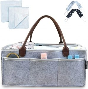 Bablee Boo Large Baby Diaper Organizer