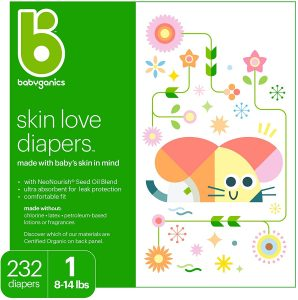 Babyganics Ultra Absorbant Diapers