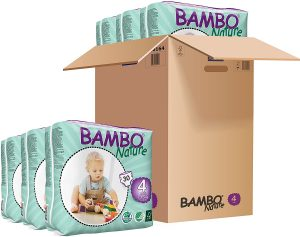 Bambo Nature Eco Friendly Baby Diapers Classic For Sensitive Skin