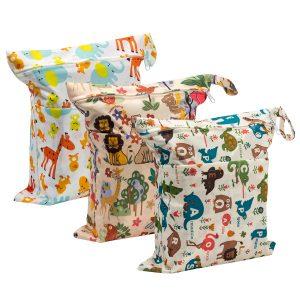 Biubee Wet Dry Cloth Diaper Bags