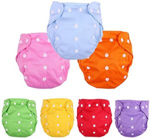 CSKB Baby Washable Reusable Cloth Diapers
