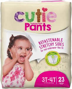Cuties Toddler Training Pants Girls