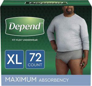 Depend FIT-FLEX Underwear