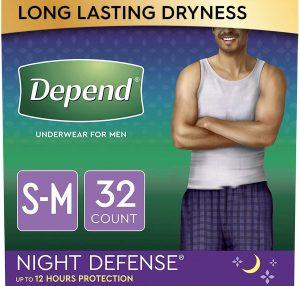 Depend Night Defense Incontinence Underwear