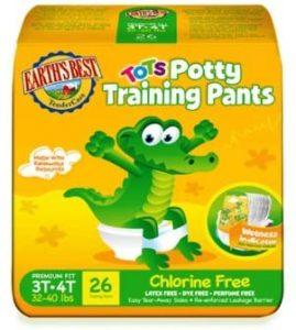 Earths Best Store Free Potty Training Pants