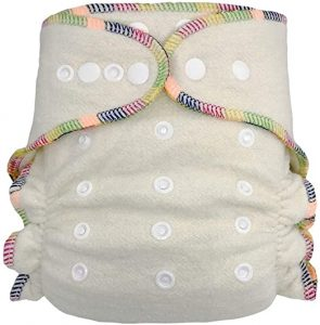 Fitted Cloth Diaper Overnight Diaper
