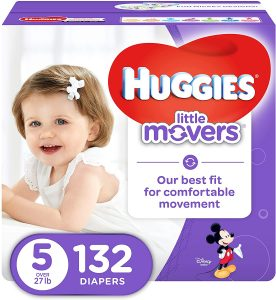 HUGGIES LITTLE MOVERS Active Baby Diapers
