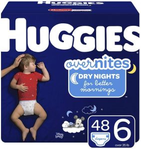 Huggies Big Pack Of Overnite Diapers