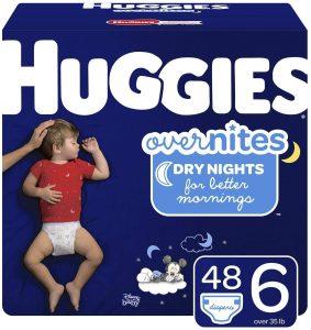 Huggies Big Pack Of Overnite Diapers