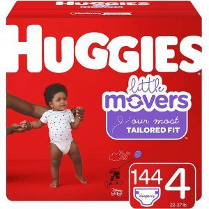 Huggies Little Movers Best Diaper For Blowout