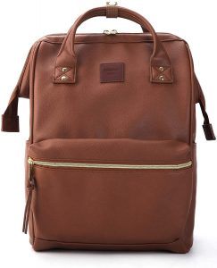 Kah & Kee Store Leather Diaper Bag