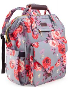 Koame Floral Diaper Bag