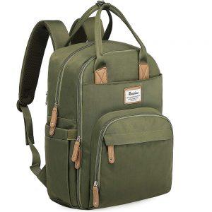 Large Capacity, Stylish, and Waterproof Diaper Bag by Ruvalino
