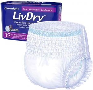 LivDry Adult XL Incontinence Underwear