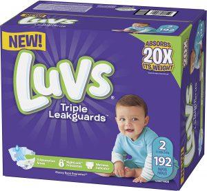 Luvs Triple Leakguards Diapers