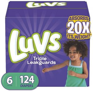 Luvs Ultra Leak Guards Baby Diapers
