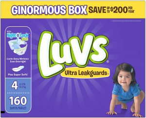 Luvs Ultra Leakproof Diapers