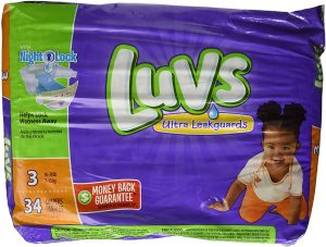 Luvs With Ultra Leakguards