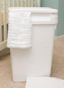 Natural Baby Cloth Diaper Pail