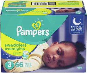 Pampers Disposable Overnight Swaddles