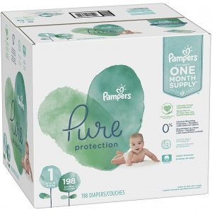 Pampers Pure Protection Baby Diapers