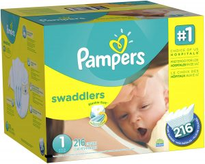 Pampers Swaddlers Sensitive Disposable Baby