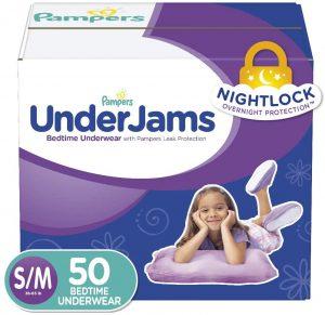 Pampers UnderJams Disposable Bedtime Underwear
