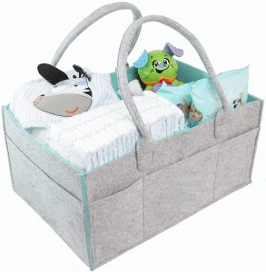 Pigwobag Storage Basket With Transferable Compartments