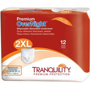 Tranquility Premium Overnight Best Adult Diaper For Diarrhea