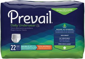 Prevail Rapid Absorption Incontinence Underwear