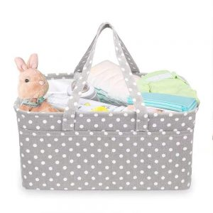 Quainbird Changing Table Storage Basket