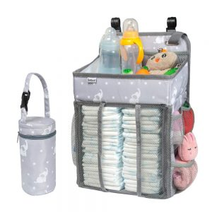 Selbor Baby Nursery And Diaper Caddy Organizer