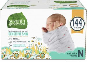 Seventh Generation Baby Diapers
