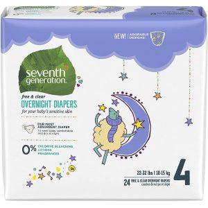 Seventh Generation Overnight Diaper