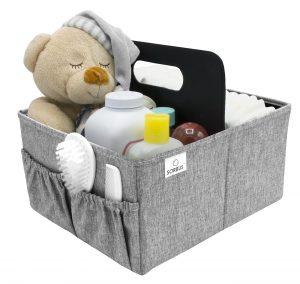 Sorbus Baby Diaper Caddy Organiser