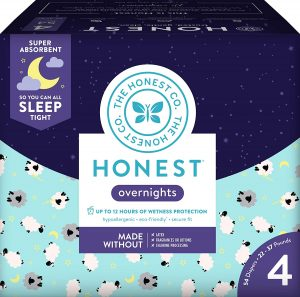 The Honest Company Co Overnight Baby Diaperd=s