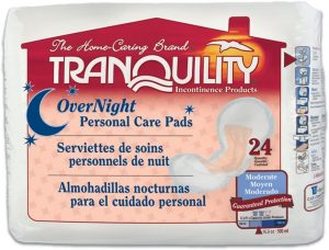 Tranquility Incontinence Personal Care Pads
