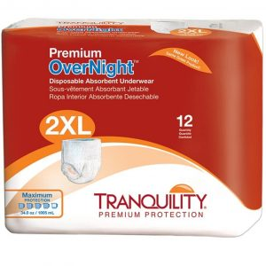 Tranquility Overnight Underwear Best Overnight Diapers For Adult