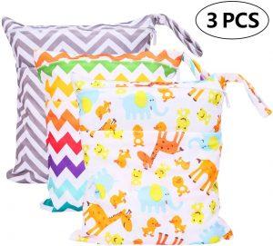 UMLIFE 3 Pack Cloth Diaper