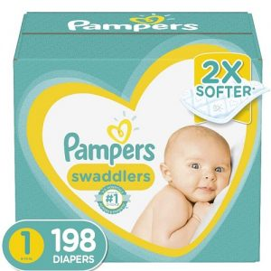 198 Count Newborn Swaddlers Best Baby Diaper