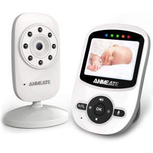 ANMEATE Digital Wireless Monitor Best WiFi Baby Monitor