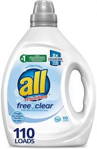 All Liquid Laundry Detergent Free