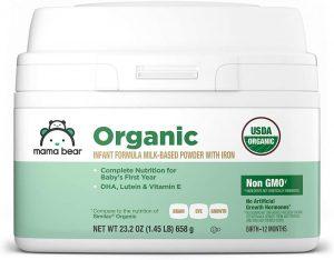 Amazon Brand – Mama Bear Organic Infant Formula