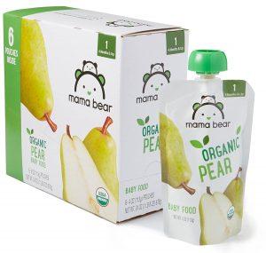 Amazon Brand - Mama Bear Organic Baby Food