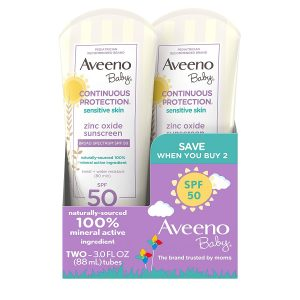 Aveeno Baby Continuous Protection Sunscreen Lotion